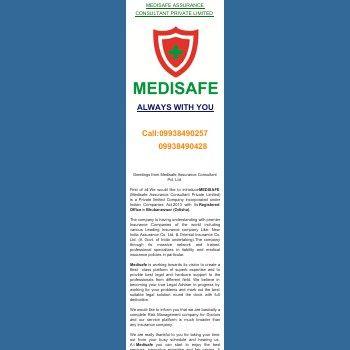 Greetings from Medisafe Assurance Consultant Pvt. Ltd.
