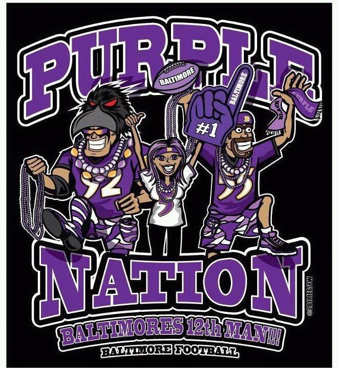 Baltimore Ravens #Maryland'sPride #PurpleNationDomination