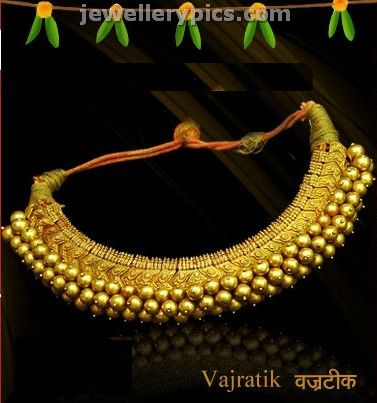 Traditional Maharashtrian jewellery collection - Latest Jewellery Designs- Vajratik