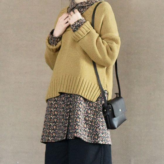 Cotton Floral Dress Women's Top Causel Women Clothes