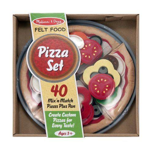 Melissa & Doug Felt Food - Pizza Set Melissa & Doug http://smile.amazon.com/dp/B004PBJOD4/ref=cm_sw_r_pi_dp_UmWYtb051MFQG404