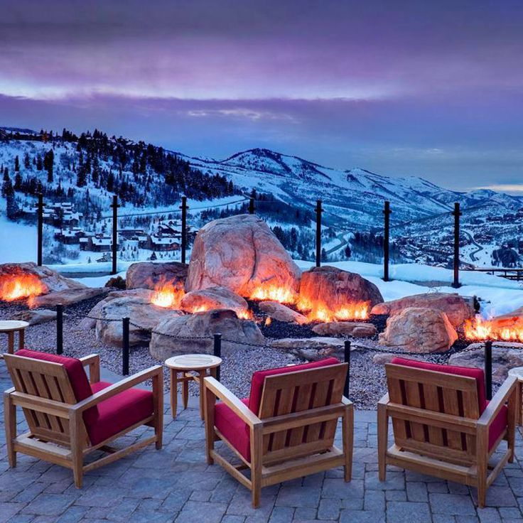 Take a look at this classic resort and spa in Utah:
