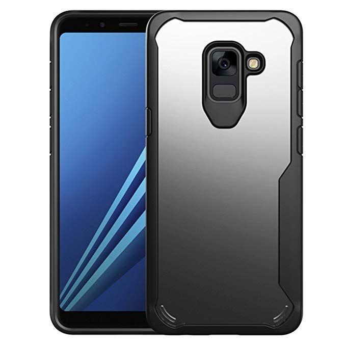 cheaper 3a341 dcb42 Amazon.com: Samsung Galaxy A8 Plus Case (2018) Heavy Duty Bumper for ...