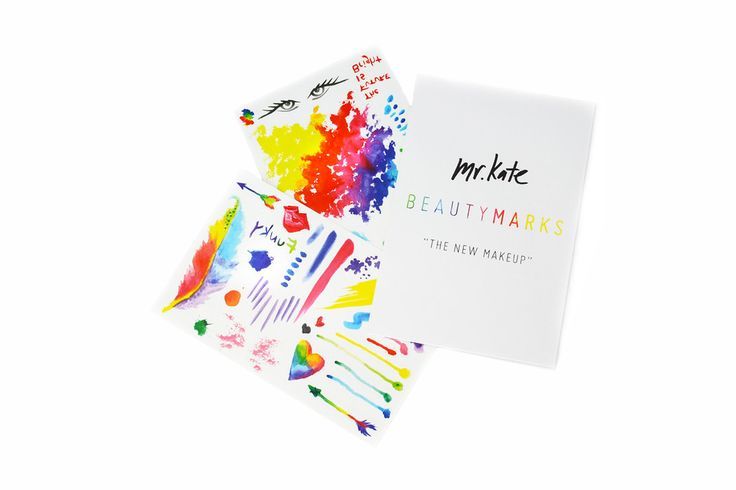 "BeautyMarks ""The New Makeup"" - Watercolor – Mr. Kate 