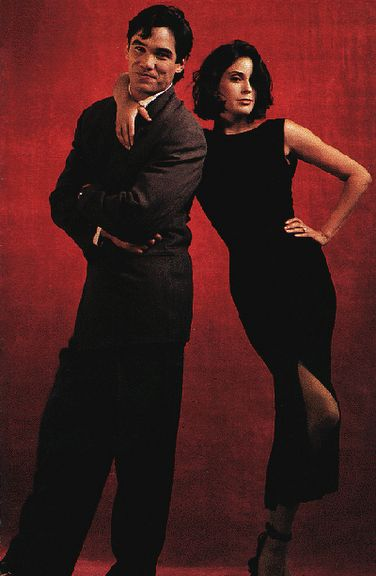 Dean Cain and Teri Hatcher - Lois & Clark