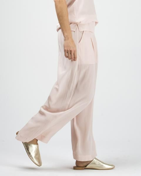 silk wide leg pant, (available in two shades) $179 www.sassind.com