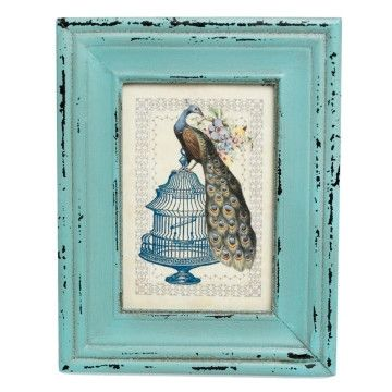 Heritage Turquoise Picture Frame