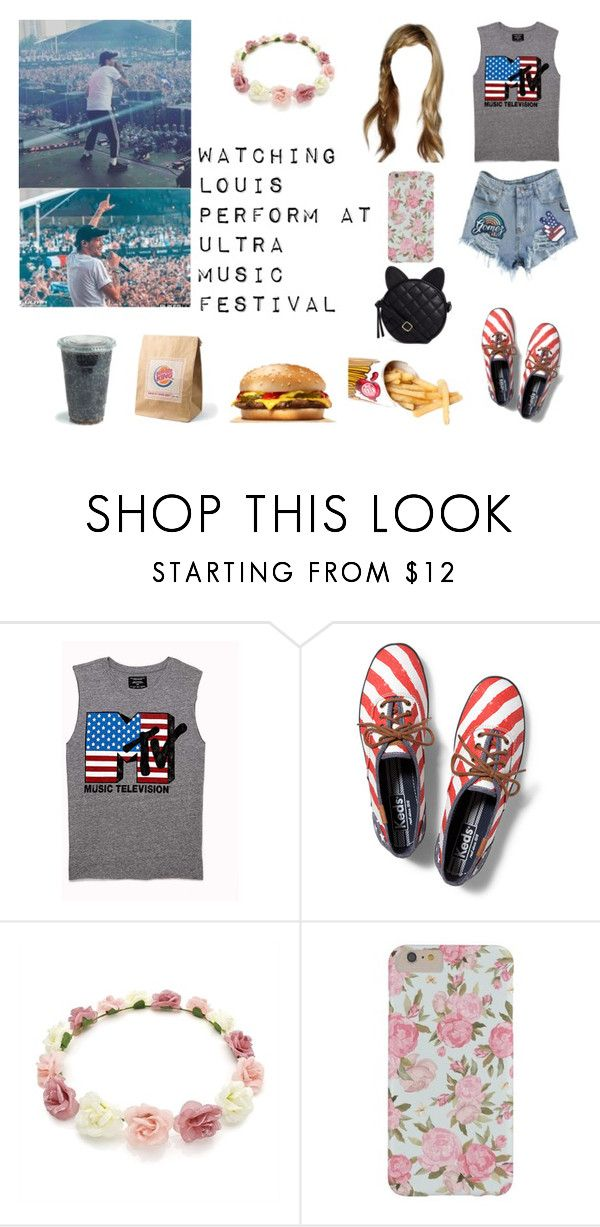 """""""Watching Louis Perform at Ultra Music Festival"""" by tayler-dukes ❤ liked on Polyvore featuring GET LOST, Forever 21, Keds, ASOS, OneDirection, louistomlinson and Ultramusicfestival"""