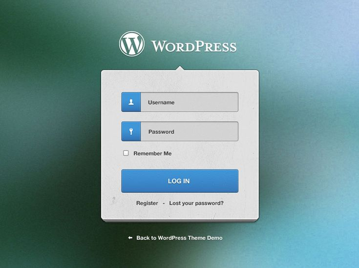 Cool Wordpress Login Screen Free PSD File. Download Wordpress Login Screen Free PSD File. If you want a modern login screen for your WP blog or site, the following WordPress login screen PSD is for you. Wordpress Login Screen Free PSD File helps you with customization of login/register WordPress form. Download this amazing PSD and feel FREE to use it in any commercial project you want. Hope you like it. Enjoy!
