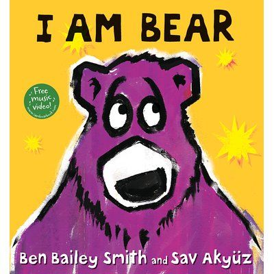 The multitalented Ben Bailey Smith (aka rapper Doc Brown) debuts a rollicking read-aloud about a decidedly mischievous bear.I am Bear.And...