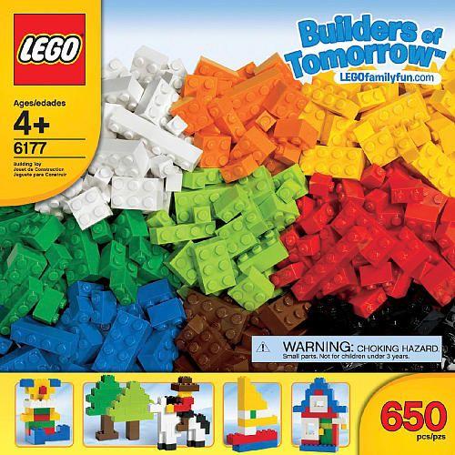 LEGO Bricks & More Builders of Tomorrow Set (6177)  - LEGO -  LEGO Bricks & More - FAO Schwarz®
