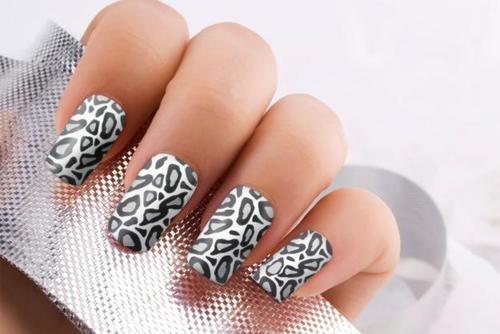 love: Simple Wedding Nails, Cheetahs Nails, Nails Art Ideas, Acrylics Nails, Hot Nails, Fake Nails Design, Animal Prints, Leopards Nails, Wedding Nails Design