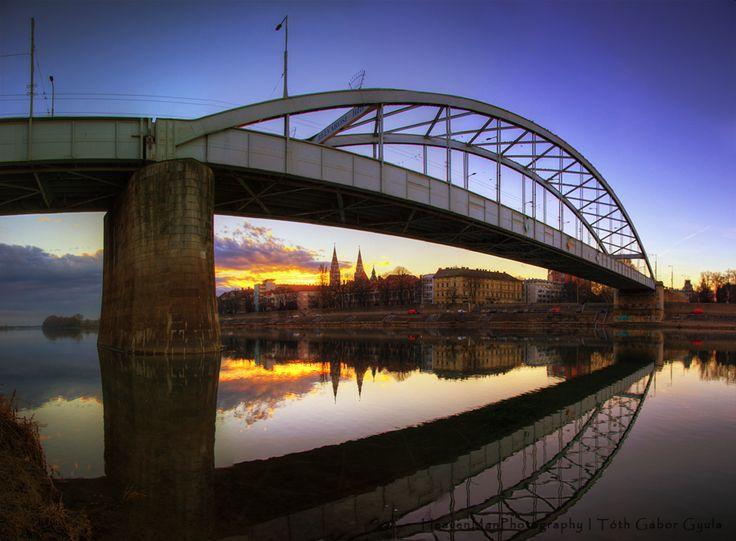 Tisza River, Szeged
