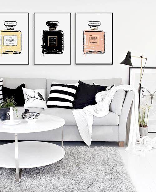 Chanel Parfüm Poster von livstil auf Etsy