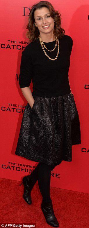 Women in black: Bridget Moynahan