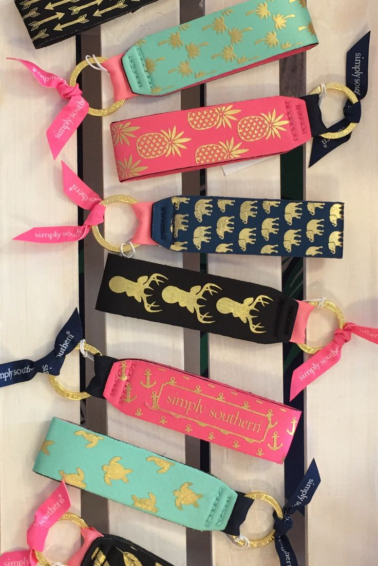 Simply Southern Keychain from Chocolate Shoe Boutique