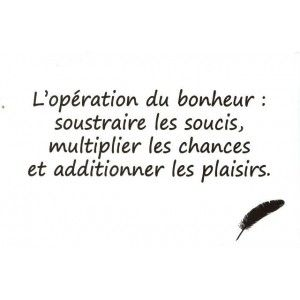 Carte Postale - Citation Célèbre