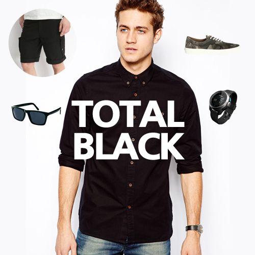 Editor's fashion picks - Total black & classic #menfashion #fashion #black #trendsetters