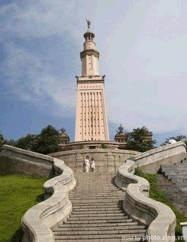 Lighthouse of Alexandria, Egypt. One of the 7 wonders of the world!