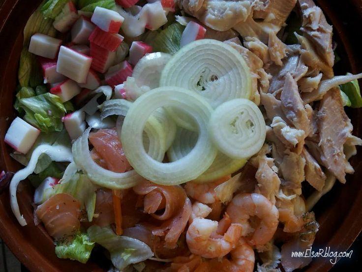 Vis salade :: ElsaRblog