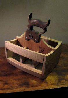 Reclaimed wood six pack holde