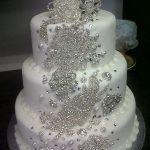 Best 25 Bling Cakes Ideas On Pinterest Pastel Blue Diamond Bling Wedding Cakes