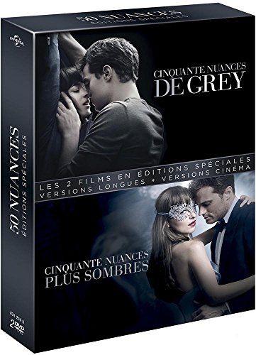 50 nuances – Coffret : Cinquante nuances de Grey + Cinquante nuances plus sombre [Édition spéciale – Version longue + Version non censurée…