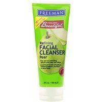 Freeman Feeling Beautiful Refining Facial Cleanser, Pear 6 fl oz (150 ml) by Freeman. $3.14. Made with Natural, Botanical Ingredients. Pear and Oil-controlling Salicylic Acid Clear and Soften. Helps to Keep Skin Clean and Clear while Reducing the Fine Lines and Wrinkles. FEELING BEAUTFL FAC CLE PEAR Size: 6 OZ. Save 21%!