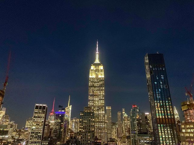 Best View Of The Manhattan Skyline And The Empire State Building