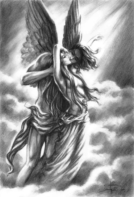 Angel god Greek mythology