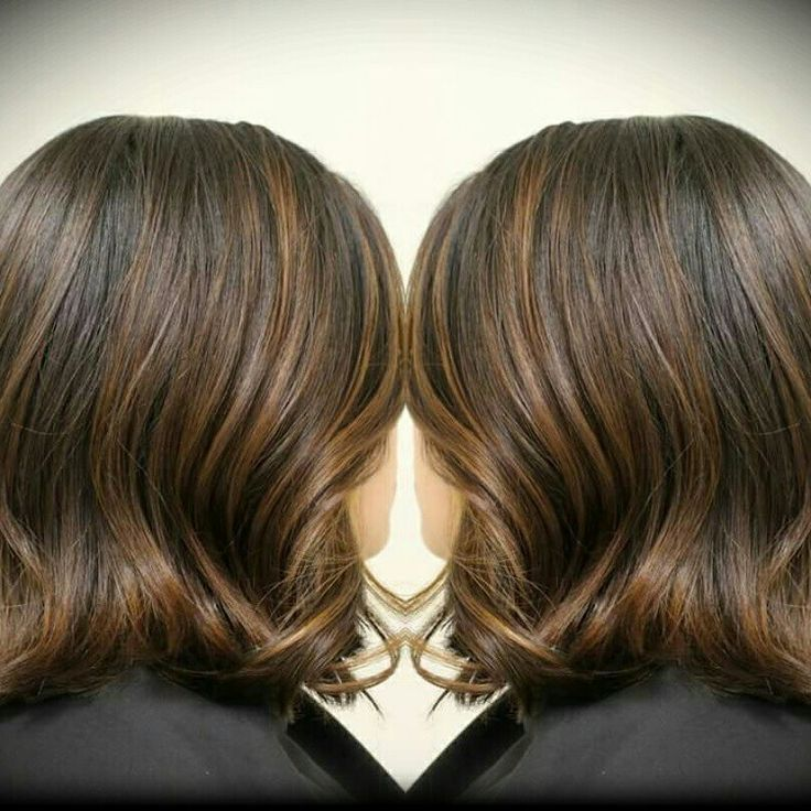 Balayage Glazed With Redken Shades Eq 06nb Hair