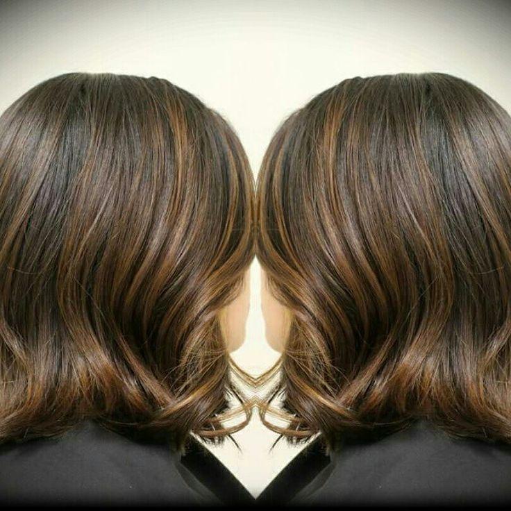 Balayage Glazed With Redken Shades Eq 06nb Hair