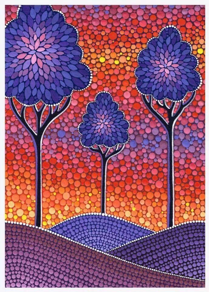 Elspeth McLean-artist #trees #arbol #arvore
