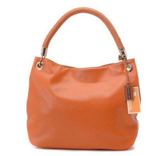 Michael Kors Collection Medium Orange Shoulder Bags [mk_1618]