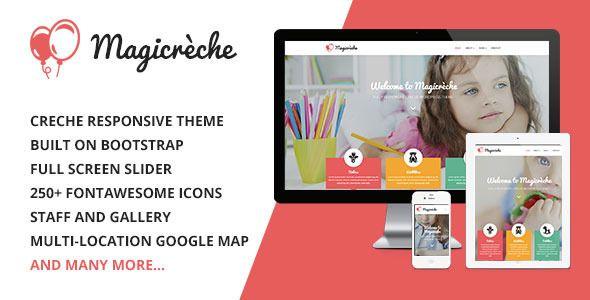 Magicreche - Responsive crèche site theme