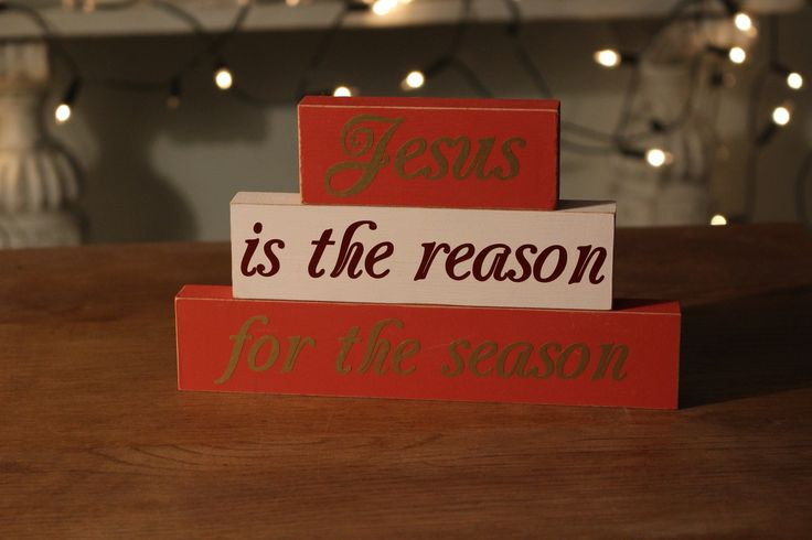Our lovely 'Jesus Is The Reason For The Season' Stacking block is a beautifully simple message that highlights the reason behind Christmas. It is decorated in traditional Christmas colours of red, white and gold. We love the reminder and think that this would make a gorgeous statement in any festive home.