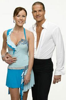 DWTS Season 1 Summer 2005 Trista Sutter and Louis Van Amstel Placed 6th
