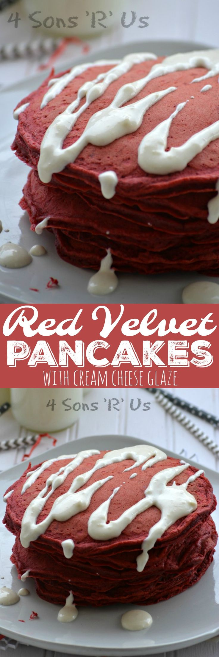 How To Make Red Velvet Pancakes Out Of Cake Mix