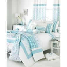 Vintage Duvet Set Duck Egg Blue