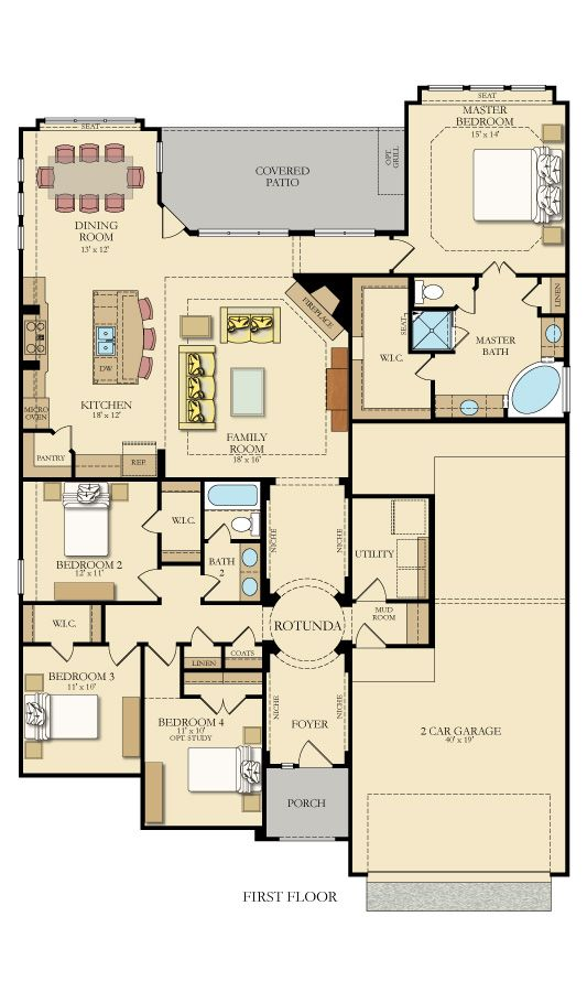 Are you a FAN of this @lennaraustin FLOORPLAN?