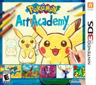 In Pokémon Art Academy, players take on the role of a young aspiring artist who enrolls in the Pokémon Art Academy to learn how to draw Pokémon under the tutelage of Professor Andy. Through ever-evolving lessons, players are taught the basics of art, from simple shapes and coloring to more complex methods like shading and blending. Along the way they are introduced to various tools they will use to create their art.