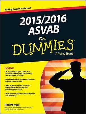 2015 / 2016 ASVAB For Dummies, For Dummies by Rod Powers, 9781119038337.