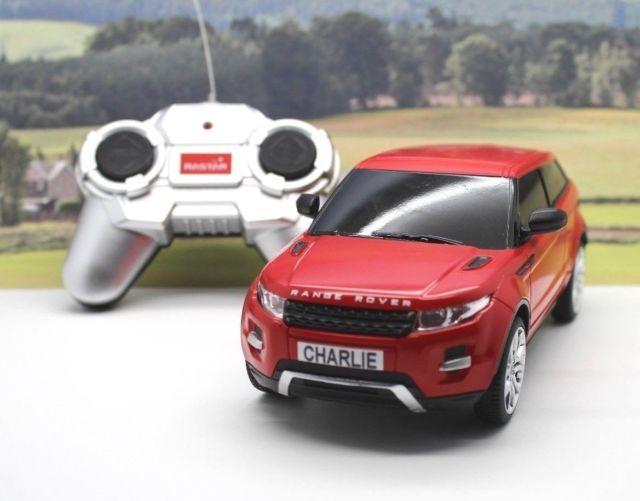 PERSONALISED PLATES 1/24 Radio Control Range Rover Evoque