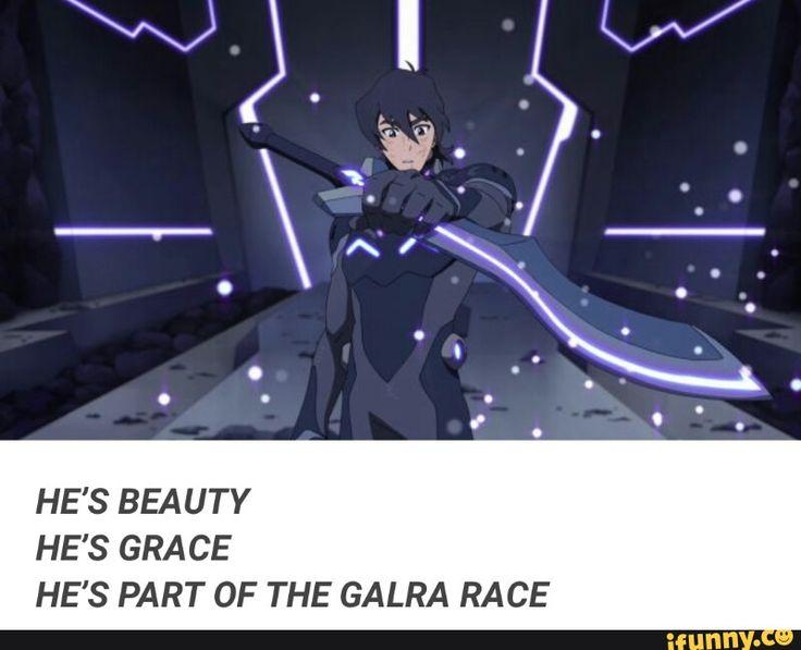 HE'S A HOOMAN GALRA HYBRID