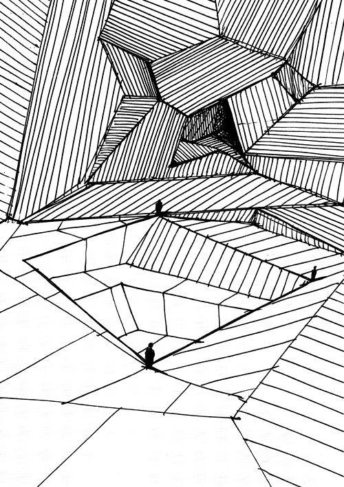 HANS DIETER SCHAAL - STAGE SET FOR 'DER PRINZ VON HOMBURG' AT HESSISCHES STAATSTHEATER WIESBADEN, 1997