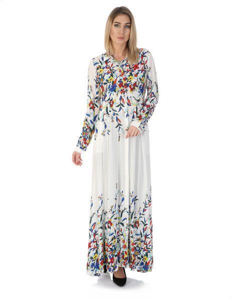 27ee02ef4989b فستان قصة واسعة للنساء من أنديامو - متعدد الألوان in 2019