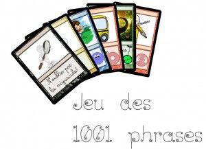 jeu 1001 phrases