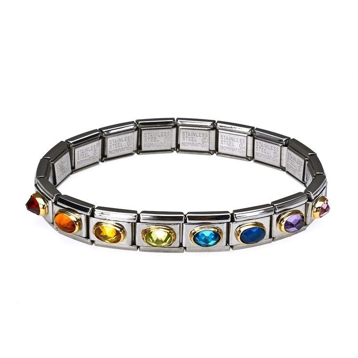 Nomination Rainbow Complete Bracelet #johngreedjewellery