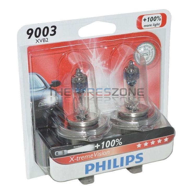 Philips X-treme Vision 9003 67/60W 12 Volt Halogen Car Headlight Bulb (pair) 12V #Philips