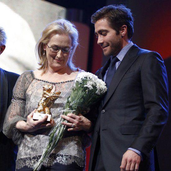 Jake Gyllenhaal Presents Meryl Streep With Golden Bear Award